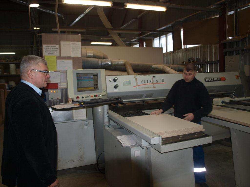 Мебельная фабрика в Копылках
